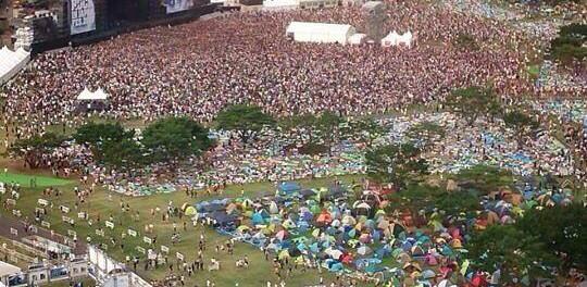 【ROCK IN JAPAN FES.2013】マキシマム ザ ホルモンの時人がゴミのようだwwwwwwwwwwww【画像】