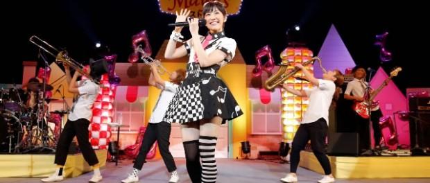 """""""雨女""""まゆゆ、ソロイベントで台風引き寄せた!?…『ラッパ練習中』発売記念ライブ"""
