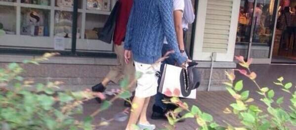 【画像】 キスマイ、御殿場で盗撮されるwww なるほど、イケメンはこういう服を着るのか・・・