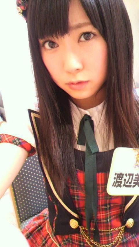 NMB48渡辺美優紀