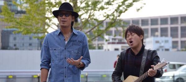 「コブクロやん!」「本物?」コブクロがグランフロント大阪でゲリラ路上ライブ