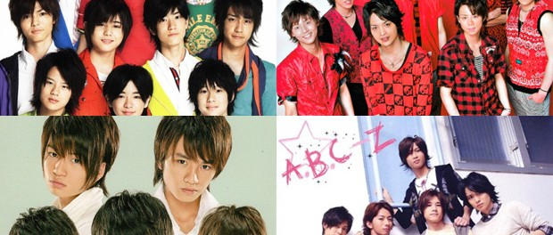 Hey!Say!JUMP、Kis-My-Ft2、SexyZone、A.B.C-Zの違いが分からない
