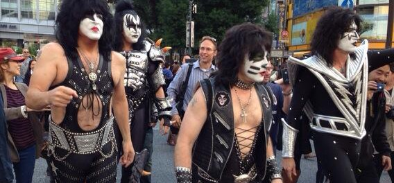 KISS、渋谷を徘徊wwwwwww(画像あり)