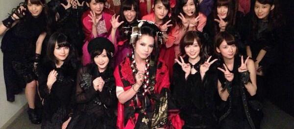 女装したHYDEさん、乃木坂46を公開処刑wwwwwwww(画像あり)