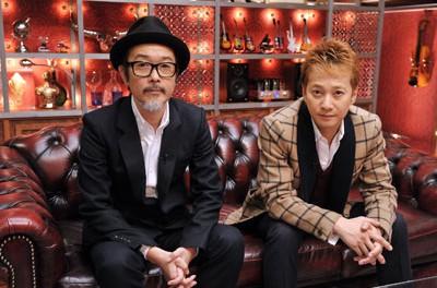 中居正広とリリー・フランキーで、新音楽番組『Sound Room』(TBS系 11月11日より毎週月曜 23:58~)