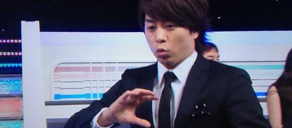 嵐・櫻井翔がAKBの恋するフォーチュンクッキーを踊ったらツイスターが大荒れwwwwwww(Mステ おにぎり 動画)