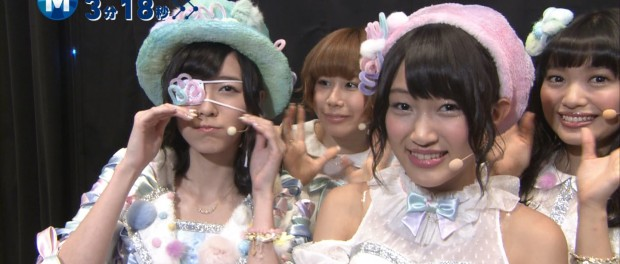 AKB48・松井珠理奈が眼帯でMステ出演 誰に殴られたwwwwww(Mステ AKB48 鈴懸なんちゃら 動画 画像 2013.12.13)