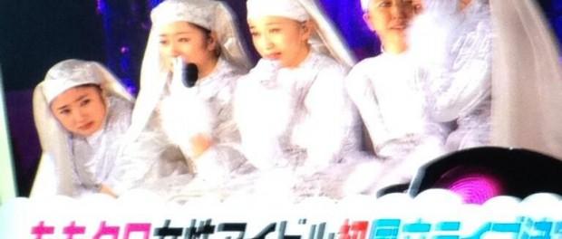 ZIP「ももクロ女性アイドル初国立ライブ」(画像あり)
