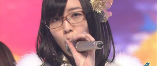 SKE48松井珠理奈 眼帯外れ眼鏡っ娘になって復帰!目の腫れ引き、Mステ出演(AKB48 スーパーライブ 画像 動画あり)