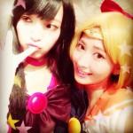 AKB48・小嶋陽菜(25)、セーラームーンのコスプレを披露 「可愛い」と好評