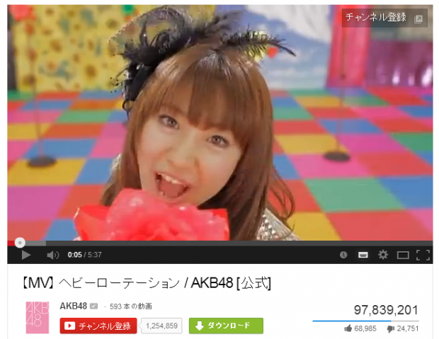 【MV】 ヘビーローテーション   AKB48 [公式  - YouTube (1)