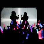 ClariS、初の自主イベントに本人登場!「reunion」を生披露 ※但し、顔出しNGのためシルエットのみ