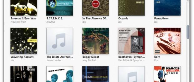 結局音楽再生ソフトってiTunesに落ちつくよな