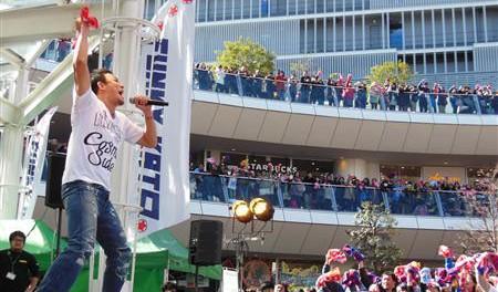 ファンキー加藤、インストアライブツアーの最終公演で「My VOICE」など6曲を熱唱@ラゾーナ川崎