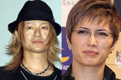 hyde 45歳  YOSHIKI 48歳  清春  45歳  TERU  42歳  GACKT 40歳