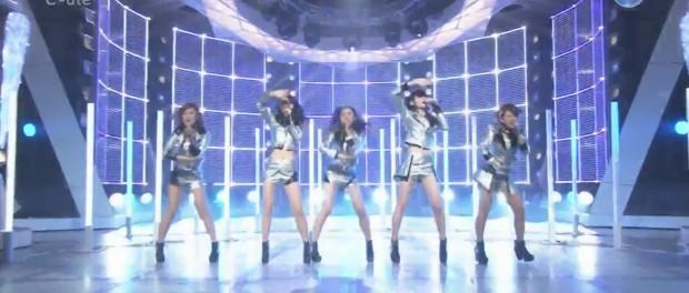 ℃-ute、MJに出演 相変わらずけしからん腰振りだったな(MUSIC JAPAN ℃-ute Love take it all 動画あり)