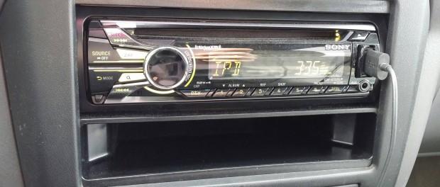 車に安いけど新しいオーディオ入れた