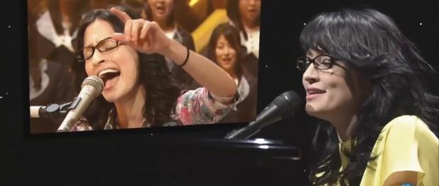 アンジェラ・アキ、最後のMステ(Mステ 2014-4-11 手紙 動画あり)