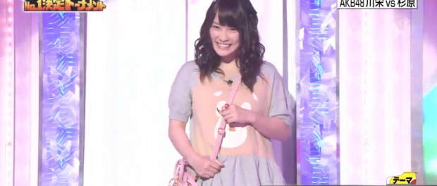 AKB48川栄李奈がロンドンハーツで見せた私服wwwwww ダサすぎてヤラセとの声も(動画・画像あり)
