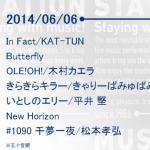 Mステ、次回6月6日出演者・演奏曲発表 B'z・松本孝弘がMステテーマ曲を披露!ほか、KAT-TUN、木村カエラ、きゃりーぱみゅぱみゅ、平井堅