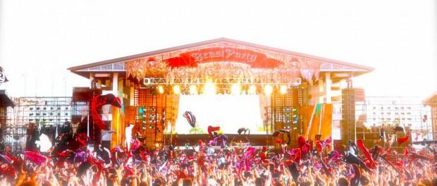 VAMPS、夏の野外ライブ「BEAST PARTY」3年連続開催決定!今年は新潟県国営越後丘陵公園野外特設ステージで8月23日(土)・24日(日)の2days 臨時新幹線の運行も