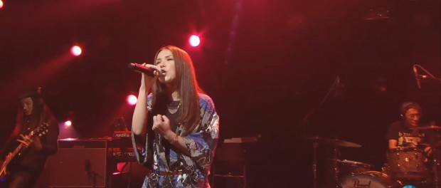 SuperflyがMステで本日公開映画「闇金ウシジマくん Part2」の主題歌「Live」を熱唱!(Mステ 20140516 Superfly Live 動画 画像あり)