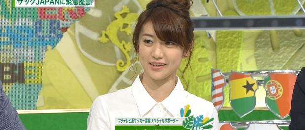 W杯特番での大島優子の発言に対し、サッカー通コラムニストの小田嶋隆が暴言。炎上する事態に