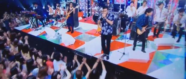 おっさんになったTOKIOが歌うLOVE YOU ONLYもなかなかいいな。つーか、ファンとの一体感ぱねぇ(Mステ 20140627 TOKIO 宙船 AMBITIOUS JAPAN LOVE YOU ONLY 動画あり)