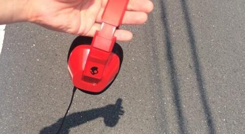 セカオワ深瀬、スカルキャンディーのヘッドフォンを買う(Crusher Red S6SCFY-059)