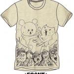 【ツアーグッズ】キュウソネコカミ×フテネコ コラボTシャツが可愛いと話題