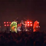 ガチャピンとムックがヘドバン・モッシュで大暴れしてる動画wwwwwwwwww(画像・動画あり)