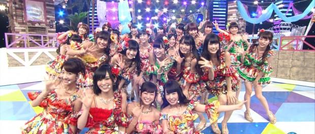 NMB48、Mステで新曲「イビサガール」テレビ初披露!柏木由紀がいるのまだ違和感ありまくりだな(Mステ 20140620 NMB48 イビサガール 動画あり)