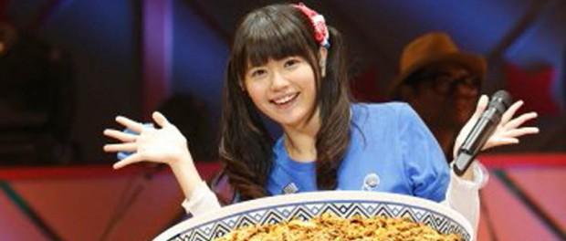 【朗報】竹達彩奈の誕生日ライブで60人前の超特大牛丼が登場wwwwwwww(画像あり)