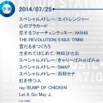 7月25日放送のMステ3時間スペシャルに神田沙也加の出演が決定!アナと雪の女王の「雪だるまつくろう」「生まれてはじめて」の2曲披露