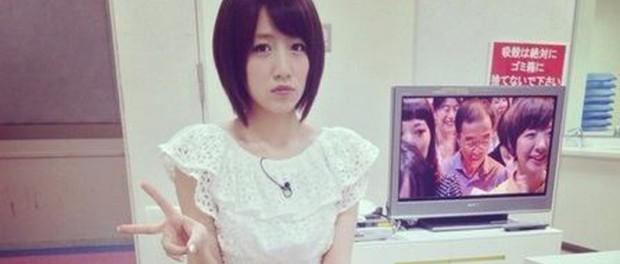 【悲報】AKB48たかみなこと高橋みなみ、また激やせ・・・西川貴教がおなじみの角度でTwitterに画像を投稿