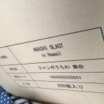 嵐ハワイコンサート「ARASHI BLAST in Hawaii」のグッズにジャンボうちわがあるっぽい(画像あり)