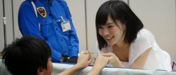 柵越しのAKB48握手会の様子wwwwwwwwwwwww(画像あり)