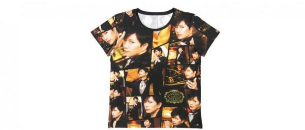 GACKTさんのオフィシャルTシャツキモすぎワロタwwwwwwwwwwwwww(画像あり)