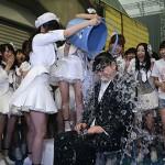ALSアイスバケツチャレンジに秋元康、AKB48渡辺麻友が挑戦!なんで寄付しないんだ?(画像 動画あり)