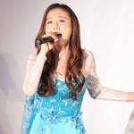 【悲報】May J.さん、福島の仮設住宅で「Let It Go~ありのままで~」を歌う
