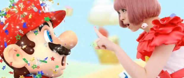 Newニンテンドー3DSのきせかえプレートのCMにきゃりーぱみゅぱみゅ!きゃりーの魔法でマリオやピカチューなど任天堂キャラがポップでおしゃれに大変身(画像・動画あり)