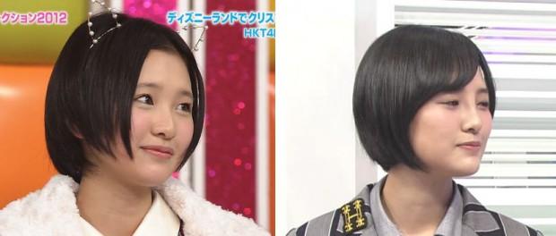 【悲報】HKT48兒玉遥さん(17)に整形疑惑  これは・・・(画像あり)