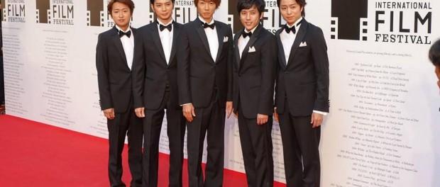 嵐、第27回東京国際映画祭オープニングイベントにサプライズ登場!(画像まとめ)