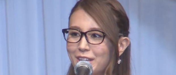 May J.さん、メガネベストドレッサー賞「メガネ特別賞」受賞 眼鏡かけてるとこ見たことある????  尚、「サングラス特別賞」にAKB48