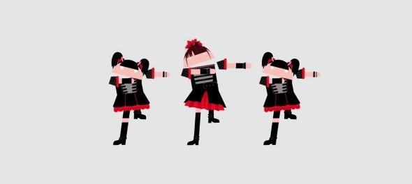 AndroidのCMにでてる女の子3人組ユニットBABYMETALをぐぐってみたんだがwwwww(画像・動画あり)