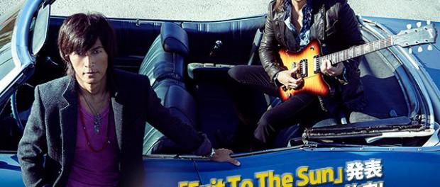 B'z、新曲キタ━━━━(゚∀゚)━━━━!! 書き下ろしの新曲「Exit To The Sun」が斎藤工主演企業サスペンスドラマ「ダークスーツ」主題歌に決定(画像あり)