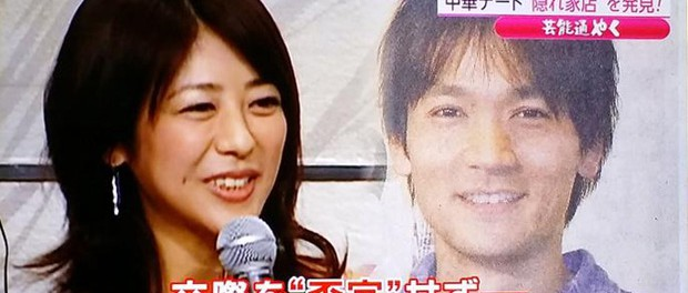 V6長野博、白石美帆と横浜手つなぎデート 所属事務所、交際を否定せず