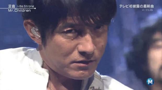 Mステ-Mr.Children-足音-最後