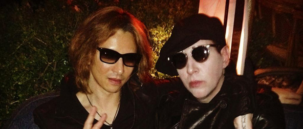 YOSHIKIとMarilyn Mansonが奇跡のコラボレーション?!ニュープロジェクト始動か?(画像あり)