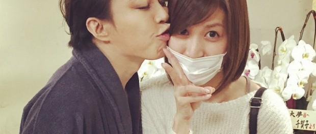 T.M.Revolution西川貴教が元AKB48大島麻衣にキスしてるんだが、これは・・・(画像あり)